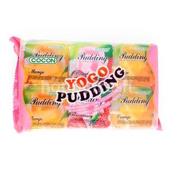 Cocon Yogo Mixed Fruits Flavored Pudding with Nata De Coco