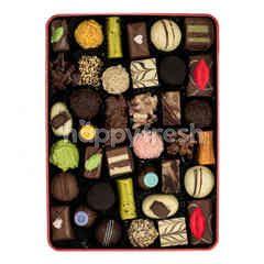 Mix Pralines Chocolate Tin Pack 40's