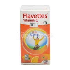 Flavettes Vitamin C Orange Flavour (60 Tablets)