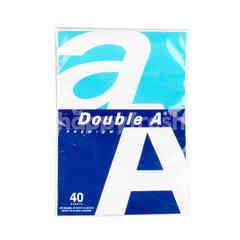ดับเบิ้ลเอ กระดาษ A4 สีขาว