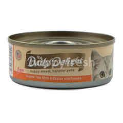 Daily Delight Skipjack Tuna White and Chicken with Pumpkin Pure Cat Food