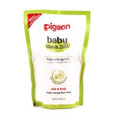 Pigeon Baby Wash 2in1 Hypoallergenic