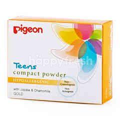 Pigeon Teens Compact Powder Hypoallergenic Gold