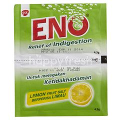 GLAXO SMITH KLINE Eno Relief Of Indigestion - Lemon Fruit Salt