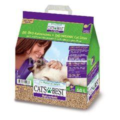 Cat's Best แคท เบส แคท เบส ทรายแมวเปลือกไม้สน แบบแท่ง 10 ลิตร