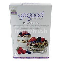 Yogood Cran And Berries Gourmet Muesli