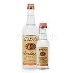 Tito Handmade Vodka 750ml + Tito Handmade Vodka 200ml