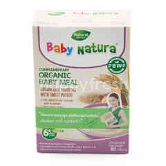 Baby Natura Organic Brown Rice Porridge - Sweet Potato (5X16g)