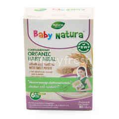 Baby Natura Organic Brown Rice Porridge - Sweet Potato (5X16g)