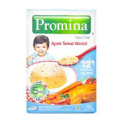 Promina Nasi Tim Rasa Ayam Tomat Wortel untuk Makanan Bayi Umur 12+ Bulan