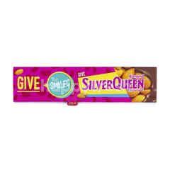 Silver Queen Cokelat Susu Almond