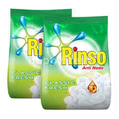 Rinso Powdered Detergent Twinpack