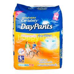 Certainty Adult Diapers Day Pants L 34 Pcs