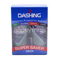 Dashing Twin Pack Active Roll On Deodorant