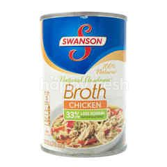 Swanson Natural Goodness Broth Chicken Less Sodium