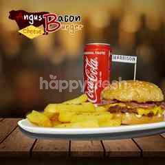 Harrison Butcher Angus Bacon Cheese Burger Set