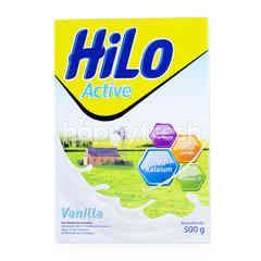HiLo Active Susu Bubuk Tinggi Kalsium Kurang Lemak Rasa Vanila