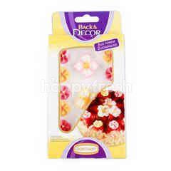 กุนธัต น้ำตาลตกแต่งขนม ชุดดอกไม้