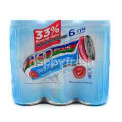 F&N 100 Plus Reduced Sugar 6 Tins