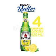 Bintang Radler Bir Rasa Lemon Isi 4 Botol