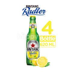 Bintang Radler Lemon Bottled Beer 4 Pack