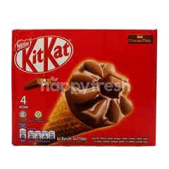 KitKat Es Krim Cone Cokelat