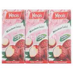 Yeo'S Lychee Flavoured Drink (6 Packs)