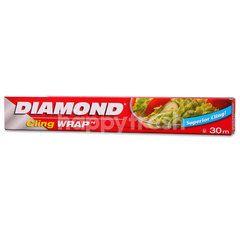 Diamond Cling Wrap Pe 100Ft/30M