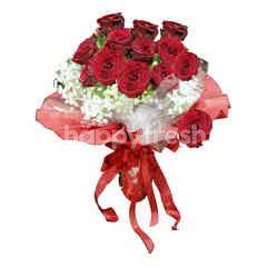 Emme Florist Dozen Red Roses