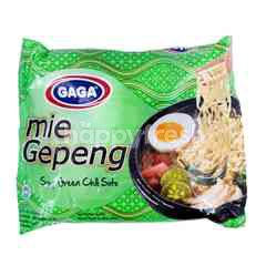 Gaga Green Chili Soto Instant Soup Flat Noodles