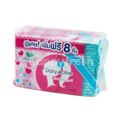 Laurier Daily Active Slim Natural Clean 40 Pcs. (Sanitary Pads)