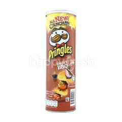 Pringles Smoky BBQ Potato Crisps