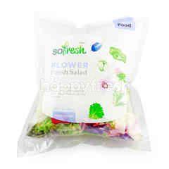 โซ เฟรช โซเฟรช สลัดผักและดอกไม้