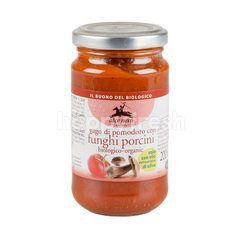 Alce Nero Organic Tomato Sauce With Pochimi Mushroom