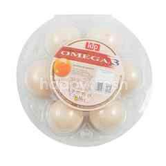 Kip Telur Ayam Kampung dengan Omega 3