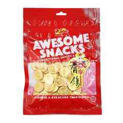 Kise Awesome Traditional Snacks & Nuts Gold Coin Candy