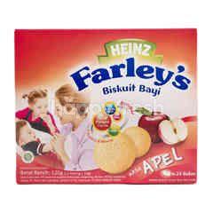 Heinz Farley's Baby Biscuit Apple Flavour