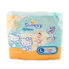 Sweety Popok Anak Unisex Fit Pantz Ukuran L