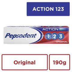 Pepsodent Action 123 Original Toothpaste