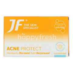 Jf Sulfur Acne Protect Bar Soap