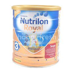 Nutricia Nutrilon Royal 3 Baby Soya Formula Milk Vanilla