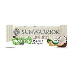 Sunwarrior Sol Good protein bar coconut cashew