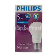Philips Comfortable Brightness LED Bulb 5W Cool Dayliht