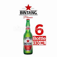 Bintang Pilsener Bottled Beer 6 Packs