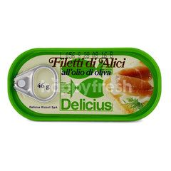 Delicius Anchovy Fillets In Olive Oil