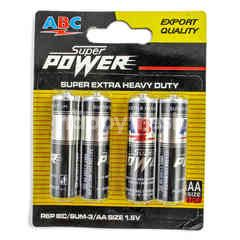 ABC Baterai R6 Super Power