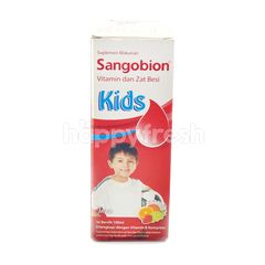 Sangobion Anak-Anak Vitamin dan Zat Besi Rasa Buah