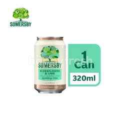 Somersby Elderflower Lime Cider Can (320ml)
