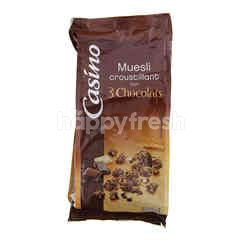 Casino General Mills 3 Chocolates Muesli