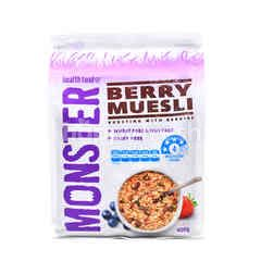 Monster Health Food Co Monster Berry Muesli Cereal